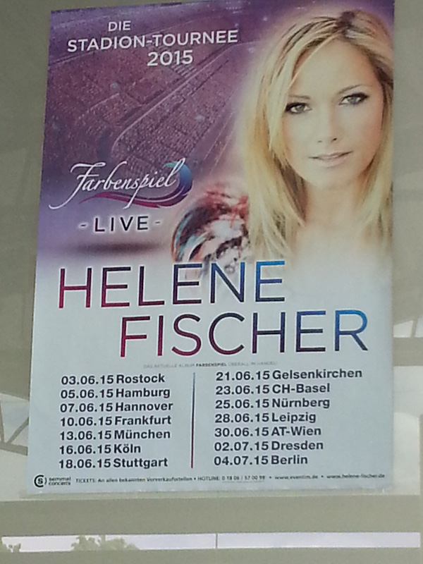 Megaforce The Stage Company Helene Fischer